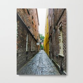 Alley to the Past Metal Print