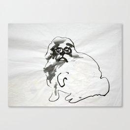 Wild Dog no. 1 Canvas Print