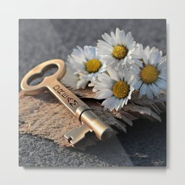 Dream Key | Clé de rêve Metal Print
