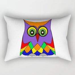 I Love Owls Rectangular Pillow