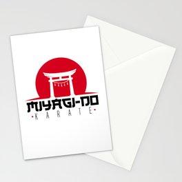 Miyagi Do Karate Art Japanese Karate Stationery Cards