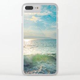 Pā'ako Beach Iridescence Clear iPhone Case