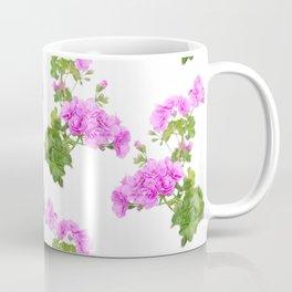 Pink ivy geranium, pelargonium Coffee Mug