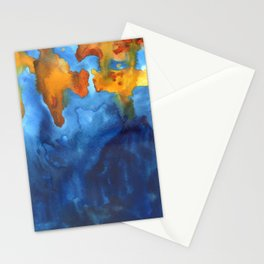 tie dye - the Earth: archipelago Stationery Cards