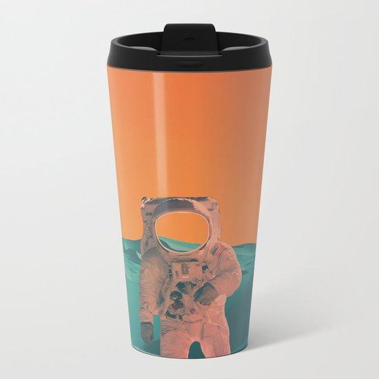 Houston Whats Your Problem? Metal Travel Mug