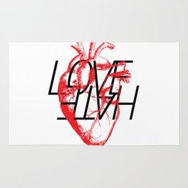 LOVE  –VS– HATE Rug