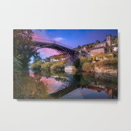 Iron Bridge 1779 Metal Print