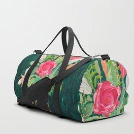 Tiger Vase Duffle Bag