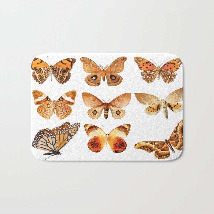 butterflies 9 Bath Mat