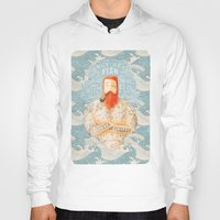 smoking Hoodies featuring Sailor by Seaside Spirit