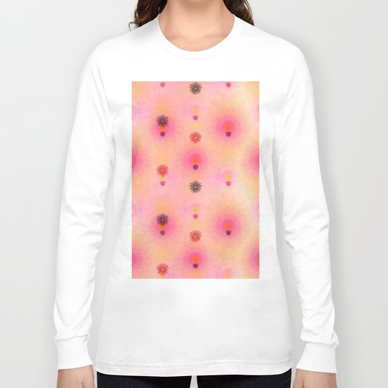 flower power happiness Long Sleeve T-shirt