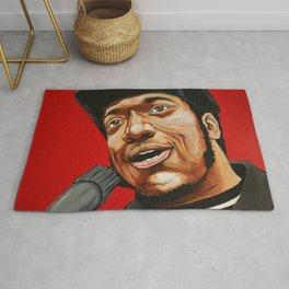 "Fred Hampton ""The Black Messiah"" Rug"