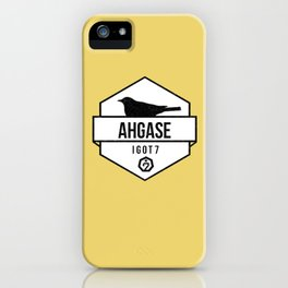 AHGASE iPhone Case