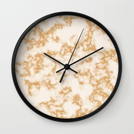 Classic Marble Pattern Background Wall Clock