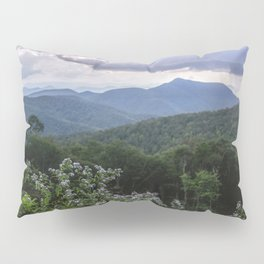 Smoky Mountain Wildflower Adventure - Nature Photography Pillow Sham