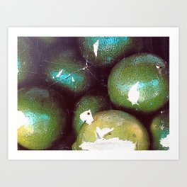 Just Limes Art Print
