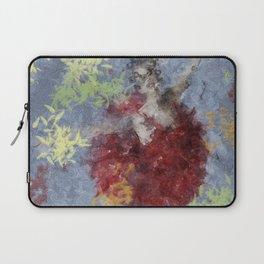 Crimson Ballerina Laptop Sleeve