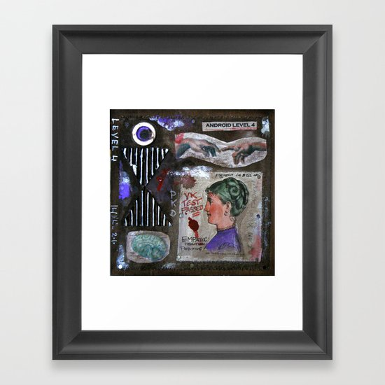 LEVEL 4 Framed Art Print