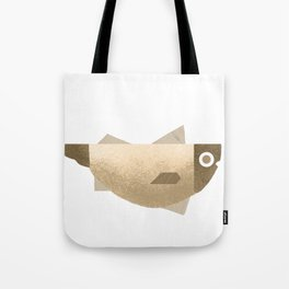 Beige fish Tote Bag