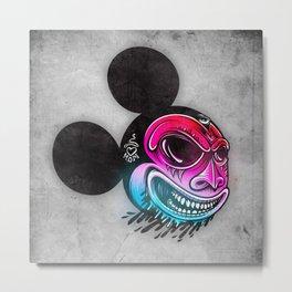 Evil Mickey 2 Metal Print