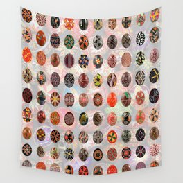 Pysanky Easter Eggs Wall Tapestry