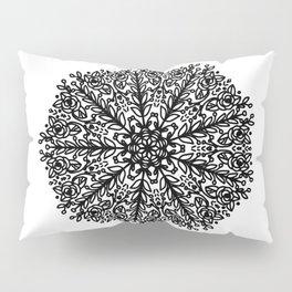 Leafy mandala Pillow Sham