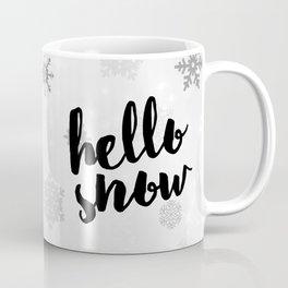 Hello Snow Coffee Mug