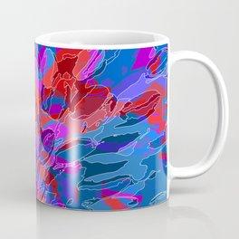 exploding coral Coffee Mug