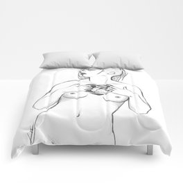 werewolf heart Comforters