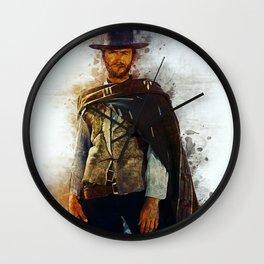 Clint Eastwood Tribute Wall Clock