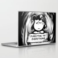 psych Laptop & iPad Skins featuring Director and psych redirector of everything. Ms. Lucy by Kristy Patterson Design