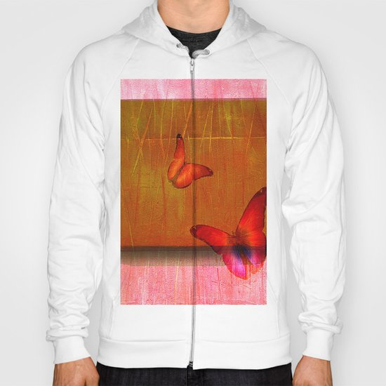 The butterflies of the day sunrise Hoody