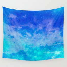 Sweet Blue Dreams Wall Tapestry