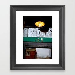 Birmingham, Michigan Framed Art Print