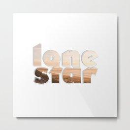 lone star Metal Print
