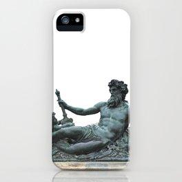 Sculpture of Zeus in Versailles iPhone Case
