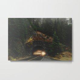Rainier Tunnel Metal Print