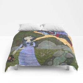 Followed By an Interdimensional Girl Comforters