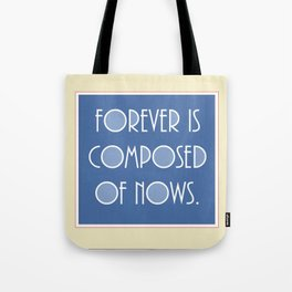 Emily Dickinson quote. Tote Bag