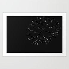 FIREWORKS (LIGHT IT UP) Art Print