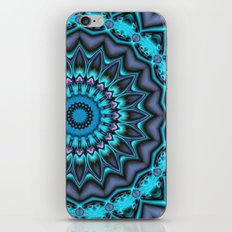 Mandala Time iPhone & iPod Skin