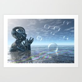 Dream Child Art Print