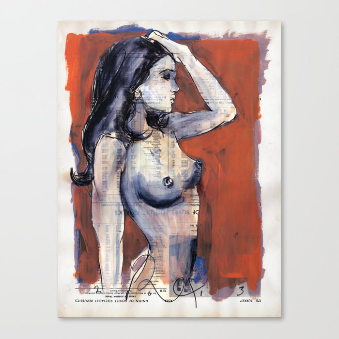 mmb Canvas Print