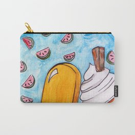 Ice-cream and Watermelons Carry-All Pouch