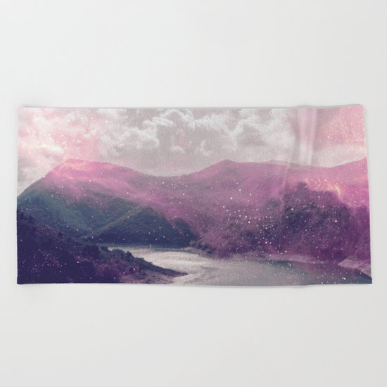 Magical Mountains Beach Towel
