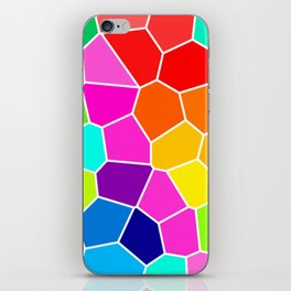 Rainbow Stained Glass iPhone Skin