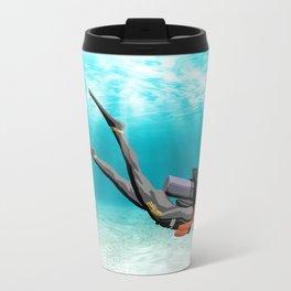 Female S.C.U.B.A. Diver Travel Mug