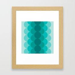 Gradual Ocean Framed Art Print