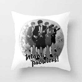Night Prowlers Throw Pillow