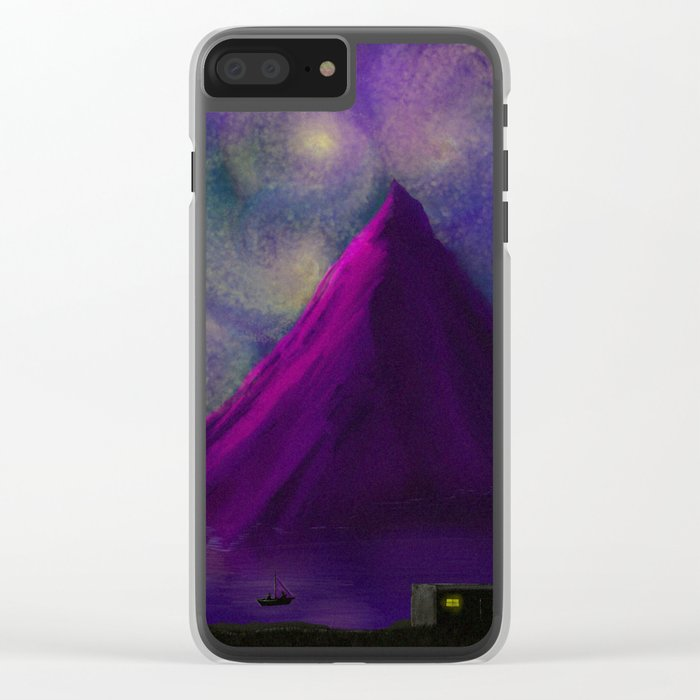 Sky of Lights Clear iPhone Case